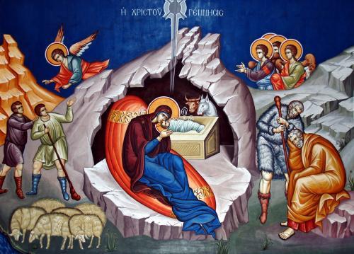 Резултат слика за рождество христово икона